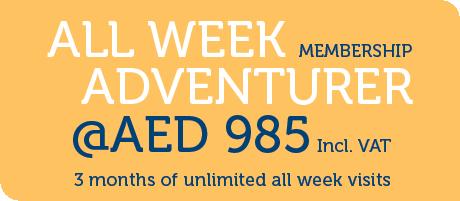 All Week Memberships Updated Pricing Sep 2021